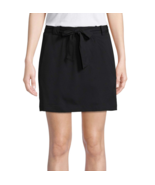 St. John's Bay Active Woven Skorts Black Size PM New  - $14.99