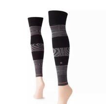STANCE Women's Studio Sleeve Adjustable Compression Height Yogi Zebra Sl... - $16.83