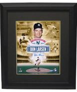Don Larsen signed New York Yankees 11x14 Collage Photo Custom Framed 195... - $109.95