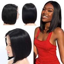ESmode hair 4x4 Short Bob Wigs Brazilian Virgin Hair Straight Bob Wigs Brazilian