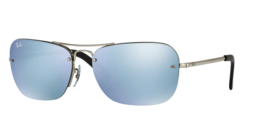 Ray ban Aviador Rb3541 003/30 61 Plata Hombre Gafas de Sol - $99.78