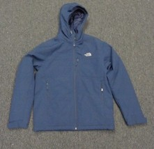 THE NORTH FACE Blue Zip Up Coat W Pockets Size XL Polyester SMA3327 - $29.69