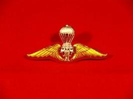 Royal Thai Army Parachutist, Wing Badge PIN Thailand Military ปีกร่ม ทบ. - $17.77