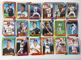 1990 Topps Pittsburgh Pirates Team Set of 29 Baseball Cards image 3