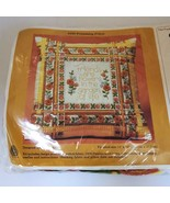 Creative Circle Friendship Pillow Top Kit 0430 Vintage 70s Oranges - $19.99