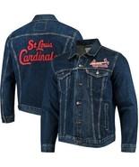 Levi's Men's MLB St. Louis Cardinals Denim Trucker Jacket Size Medium $108 - $49.49