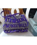 Vera Bradley Simply Violet Cha Cha Ruffle Shoulder bag - $25.00