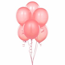 "144 Latex Balloons 12"" with Clips and Curling Ribbon - Coral - $22.28"