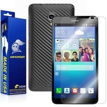 ArmorSuit MilitaryShield Huawei Ascend Mate 2 Screen + Black Carbon Fiber Skin - $32.99
