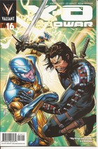 Valiant X-O Manowar #16 Action Adventure Mystery  - $2.95