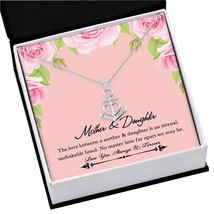 Daughter Jewelry From Mom Necklace Pendant 316L Steel Heart Birthday Wom... - $36.58