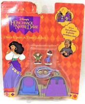 Disney Mattel Once Upon A Time Locket Hunchback Of Notre Dame Miniature ... - $21.95
