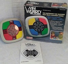 New Vtg 80s VTech Mini Wizard Electronic Memory Game Handheld Simon Says... - $34.63