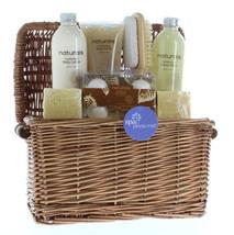 Holiday Gift Baskets, Spa Gift Sets For Women Sandalwood Naturals Spa Ba... - $39.08