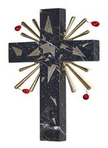 "Salvador Dali ""Crucifixion"" 1980 - Rare Dark Grey Marble Sculpture - Gal... - $2,900.00"