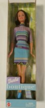 Barbie Boutique Doll, Brunette, Mattel 56433 New in Box 3+  - $19.47