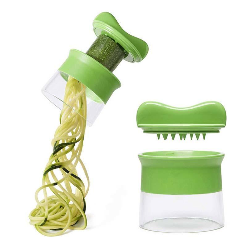 Cylinder Spiral Graters Slicer Vegetable Carrot Cucumber Cutter Peeler