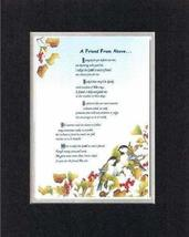 Touching and Heartfelt Poem for Friends - [A Friend From Above. ] on 11 x 14 CUS - $16.33