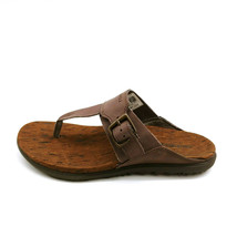 Merrell Womens Around Town Luxe Post Thong Sandals Falcon Brun 7M  - $49.49