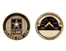 Challenge Coin Army Rank Private E-2 Coin - $17.94