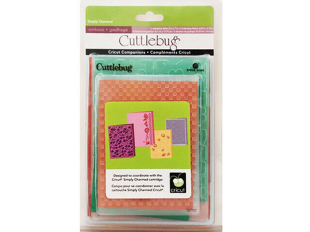 Provo Craft Cuttlebug Simply Charmed Embossing Folder Set #2000611