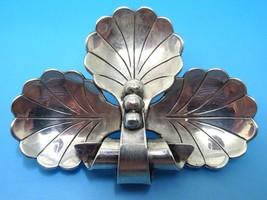 Large La Paglia Sterling Leaf Pin #133 (#J3626) - $225.00
