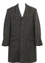 J Crew Men's Ludlow Topcoat in Textured Grey Tweed Sz 40S H0709 - $275.99