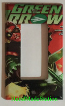 Green Arrow Comic Book Light Switch Duplex Outlet Cover Plate & more Home decor image 3