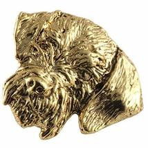 Creative Pewter Designs, German Wire Haired Handcrafted Dog Magnet, 24k ... - $22.99