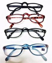 High Bridge Multi Color Light Reading Glasses 4 Styles to Choose +1.00 t... - $5.95