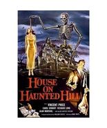 THE HOUSE ON HAUNTED HILL MOVIE POSTER 24X36 VINCENT PRICE - $21.00