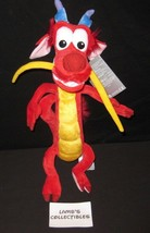 "Disney Store USA Mushu dragon 15"" plush from Mulan stuffed animal doll toy - $36.09"