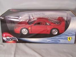 Ferrari F40 1:18 scale diecast Hot Wheels Mattel - $45.08