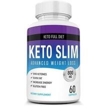 Best Keto Slim Diet Pills w/ BHB Salts - Ketogenic Keto Weight Loss - 60... - $21.17