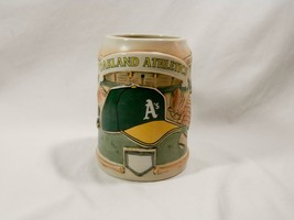 Vintage Sportsteins by Cui Oakland Athletics Pottery Stein MLB - $25.00