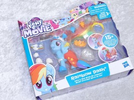 My Little Pony The Movie Rainbow Dash Land of Sea Snap On Fashion - $20.69