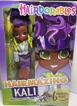 HAIRDORABLES Hairmazing KALI Poseable Fashion Doll 6 Surprises Bigger Hair - $22.56