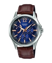 Casio MTP-E320LY-2A Men's Standard Analog Leather Band Watch  - $65.00
