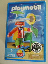 PLAYMOBIL 4238 CLOWN & SQUIRT FLOWER Play Set Toy NEW in open box, dated... - $8.99