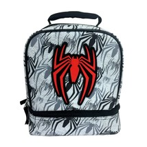 Spider Man Dual Compartment Lunch Bag / Box Insulated - $15.83
