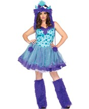 Plus Queen Size Polka Dotty Monster Rave Adult Women Halloween Costume T... - $59.95