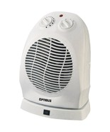 Optimus H-1382 Portable Oscillating Fan Heater with Thermostat - $53.08