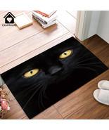 CHARMHOME Doormat Decorative Animal Printing Door Mat The Black Cat In T... - $36.20