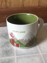 Starbucks 2013 PORTLAND You Are HERE Discontinued 14 oz Coffee Cup Mug  - $28.04