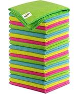 SCRUBIT Microfiber Cleaning Cloth Lint Free Anti-Bacterial Towels for Ho... - $13.99