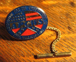 APCWS Vintage Pin Tie Tack - Association For The Preservation Of Civil W... - $39.59