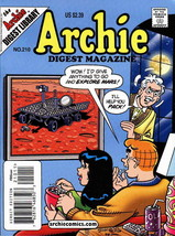 Archie Digest Magazine #210 VF/NM; Archie | save on shipping - details inside - $2.99