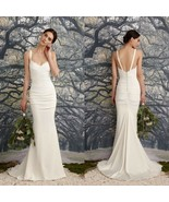 Nicole Miller Tonya Women's Wedding Dress Bridal Gown Antiqu White Size ... - $533.61