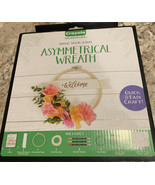 Crayola Signature Make Your Own Asymmetrical Wreath Kit - Quick & Easy C... - $14.07