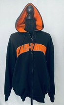 Harley-Davidson Zippered Hooded Sweatshirt, Unisex, M, Poly/Cotton Blend... - $33.12